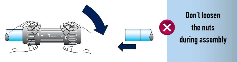 Transair Installation Instructions 16 5mm To 40mm