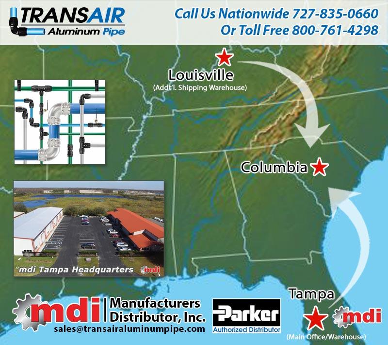 South Carolina Transair Pipe