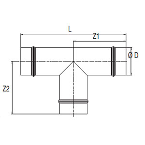 Equal Tees dimensions